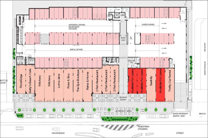 Coconut Grove Retail Port Douglas Premier Commercial Retail